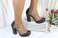 Туфли Турция на высоком каблуке GUERO 34-03-5-4