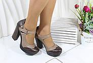 Туфлі жіночі Туреччина на високому каблуці GUERO 34-03-5-4, фото 6