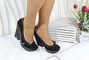 Туфлі замшеві чорні GUERO 34-173-41-47, фото 6