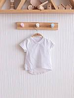 Белая базовая футболка, Размеры 62,68,74,80,86