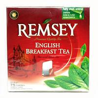 Чай черный Remsey English Breakfast Tea 75 пакетиков (Польша)