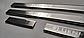 Накладки на пороги для RENAULT FLUENCE (2009-2020), фото 3