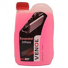 Охлаждающая жидкость VENOL G12+ (красная) (концентрат) 1L