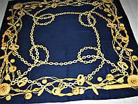 Платок Bvlgari тяжёлый шёлк 100%, фото 1