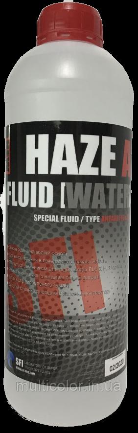 """Жидкость для генераторов тумана SFI Haze """"A"""" Fluid Water 1л"""