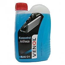 Охлаждающая жидкость VENOL G11 (синяя) (концентрат) 1L