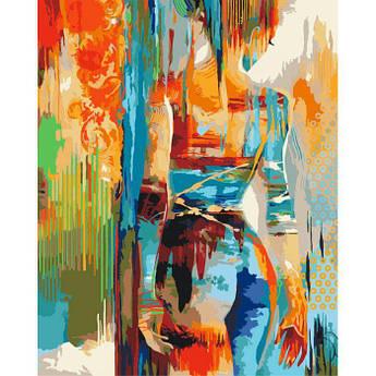 Картина по номерам Силуэт , 40x50 см., Идейка