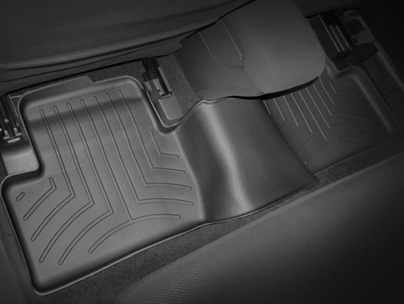 Ковры резиновые WeatherTech Mitsubishi Lancer 2007-2016 задний черный