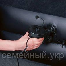 Надувной матрас-кровать  Bestway с электронасосм. Размер: 203х102х46 см. Нагрузка: 136 кг.  Черный. 67381, фото 3