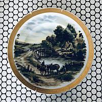 Настенная декоративная тарелка. Германия