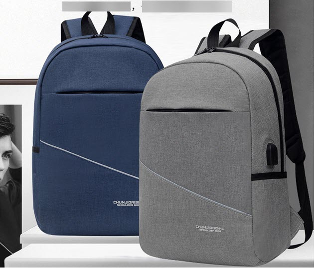 Большой унисекс рюкзак оригинального дизайна с USB