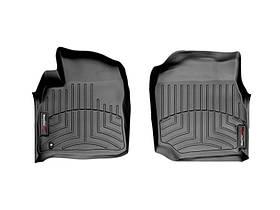 Ковры резиновые WeatherTech Toyota LC100 1998-2007 передние черные