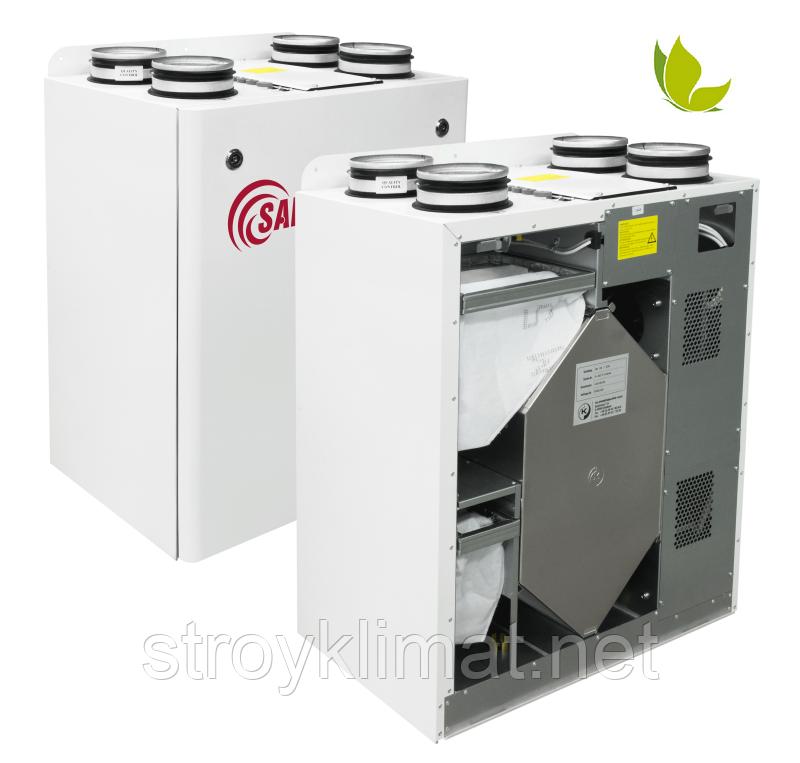 Приточно-вытяжные установки с пластинчатым рекуператором Salda RIS 1900 VE EKO 3.0