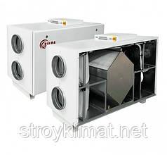 Приточно-вытяжные установки с пластинчатым рекуператором Salda RIS 1200 HE EKO 3.0