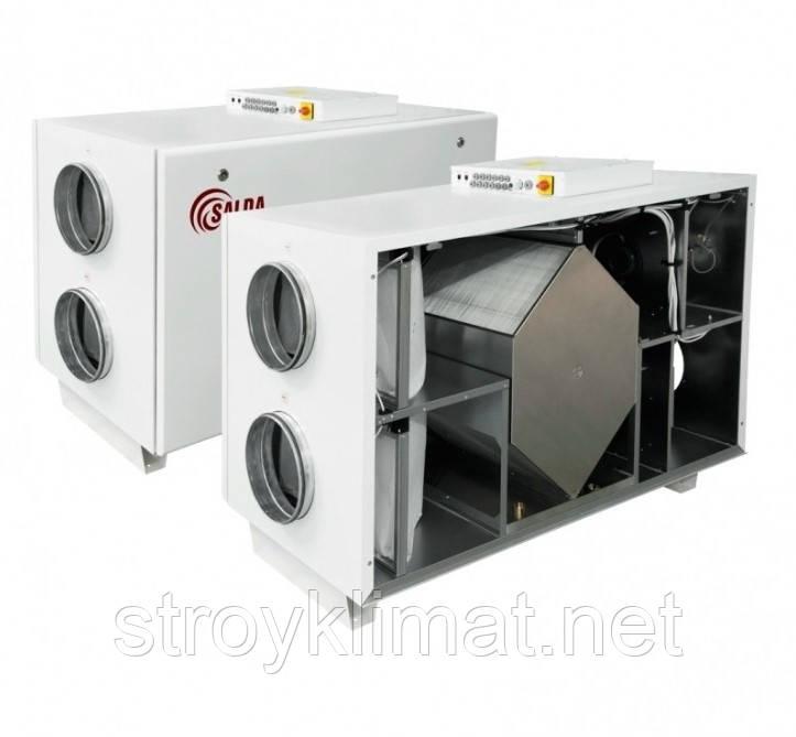Приточно-вытяжные установки с пластинчатым рекуператором Salda RIS 2500 HE EKO 3.0