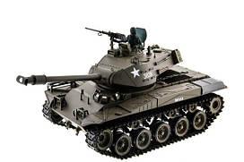Танк на радіокеруванні Bulldog Heng Long M41A3 з пневмопушкой та/до боєм 1:16 (HL3839-1HL3839-1Upg)