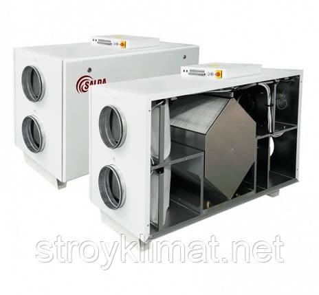 Приточно-вытяжные установки с пластинчатым рекуператором Salda RIS 2500 HW EKO 3.0, фото 2