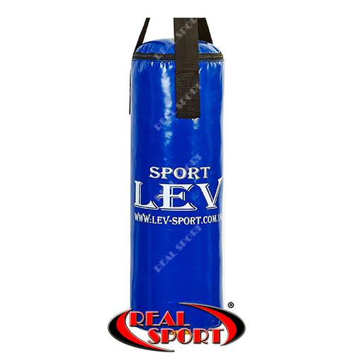 Мешок боксерский Цилиндр Тент h-65см Lev LV-2803 синий
