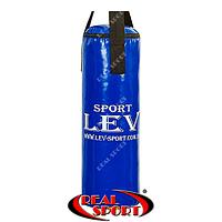Мешок боксерский Цилиндр Тент h-65см Lev LV-2803 синий, фото 1