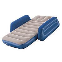 Детская надувная кровать Bestway 67602, 76 х 145 х 18. Односпальная, синяя