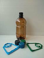 Пластиковая ПЕТ тара, бутылка 0,5л (темная)