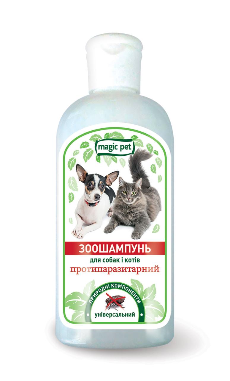 "Magic Pet шампунь ""Протипаразитарний"" для кішок 200мл"