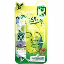 Маска с экстрактом центеллы Elizavecca Face Care Centella Asiatica Deep Power Ringer Mask Pack