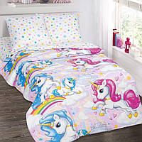 Карусельки, постельное белье подростковое (поплин, 100% хлопок), фото 1