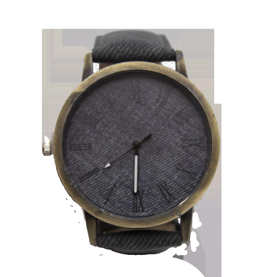 Наручные часы джинсовые VOLRO Серый (vol-449)