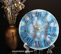 Годинник на стіл з епоксидною смолою