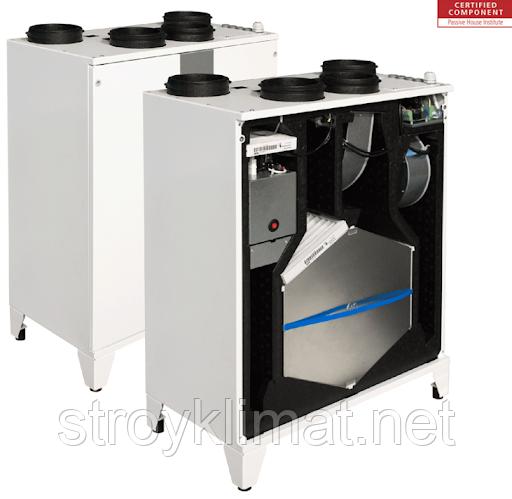 Приточно-вытяжные установки с пластинчатым рекуператором Salda SMARTY 4X V 1.1