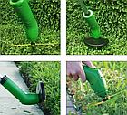 Газонокосилка для сада Zip Trim аккумуляторная | Ручная беспроводная газонокосилка | Триммер для травы, фото 8