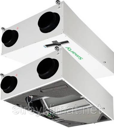Приточно-вытяжные установки с пластинчатым рекуператором Salda SMARTY 4X P 1.2, фото 2