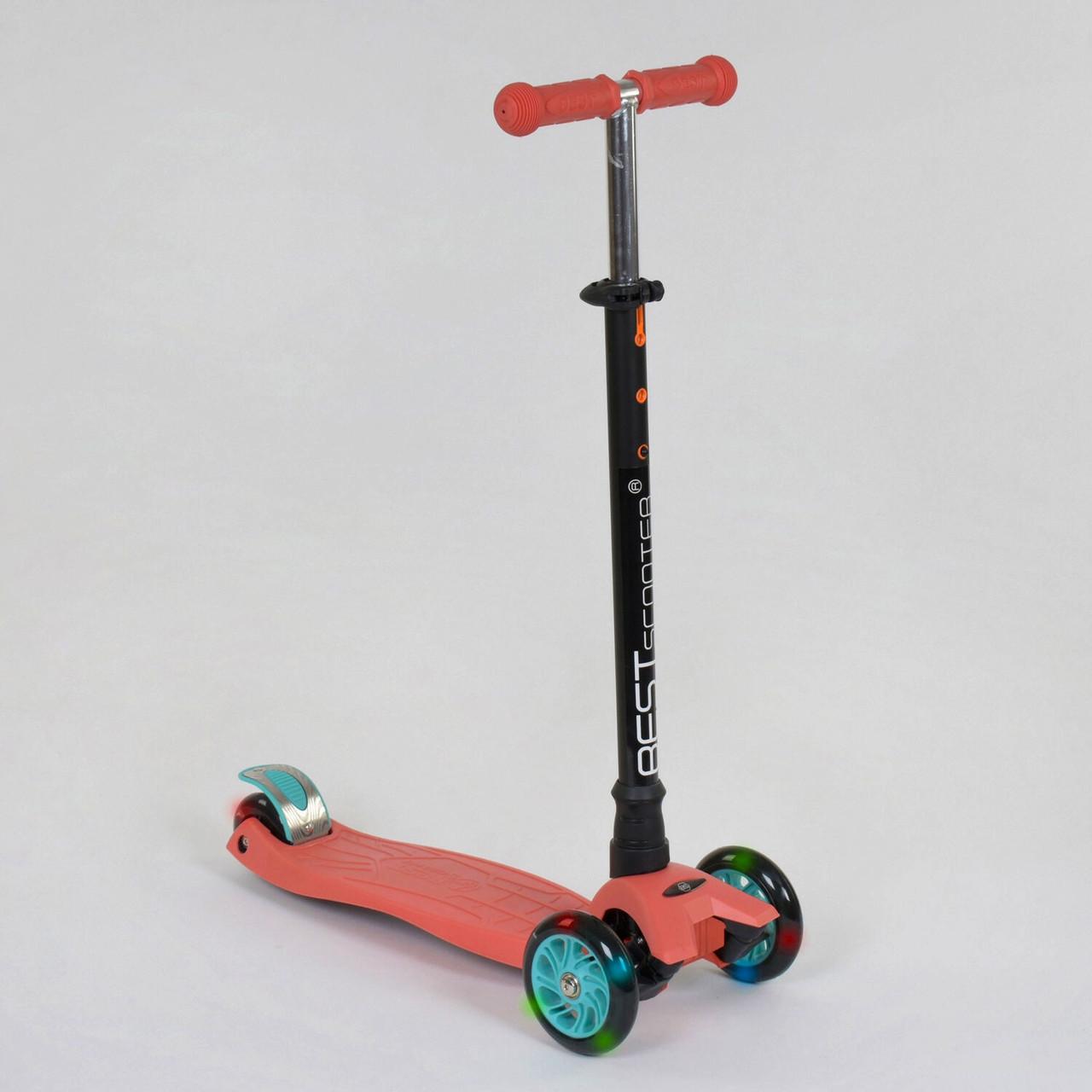 Самокат трехколесный Best Scooter MAXI 466-113 / А 24439 Терракотовый