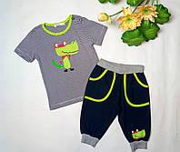 """Літній костюм для хлопчика """"Діно"""", фото 1"""