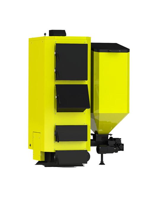 Промышленный твердотопливный котел Kronas Combi 27 кВт