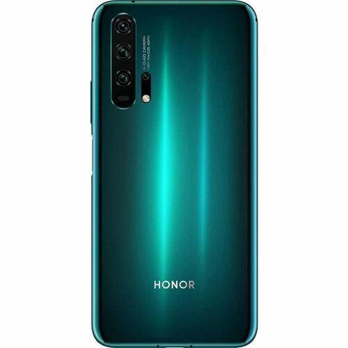 Задняя крышка Huawei Honor 20 Pro (YAL-AL10), мерцающая бирюзовая, Phantom Blue Оригинал
