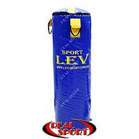 Мешок боксерский Цилиндр Тент h-85см Lev LV-2802 синий, фото 1
