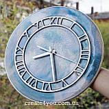 Годинник настінний з епоксидною заливкою, фото 2