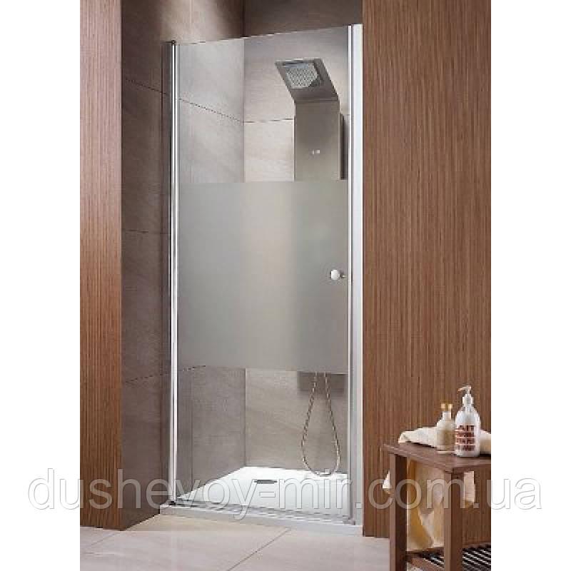 Распашная дверь в нишу Radaway Eos DWJ 90 (890-910x1970) интимато/хром (37903-01-12N)