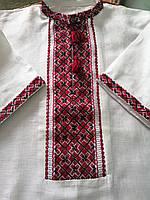 Вишиванка чоловіча (білий льон, ручна вишгорода-ка, кр) - р37-1. 2004-рв-013-37