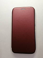 Чехол-книжка Samsung Galaxy J5 J500 2015 Level Marsala