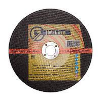 Круг абразивный отрезной по металлу 180х2х22 M-Line (Запорожье)