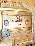 Детские наклейки на стену Зверята лесные, фото 6