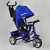 Детский трехколесный велосипед Best Trike 6588 - 15-787 Синий (колеса пена)