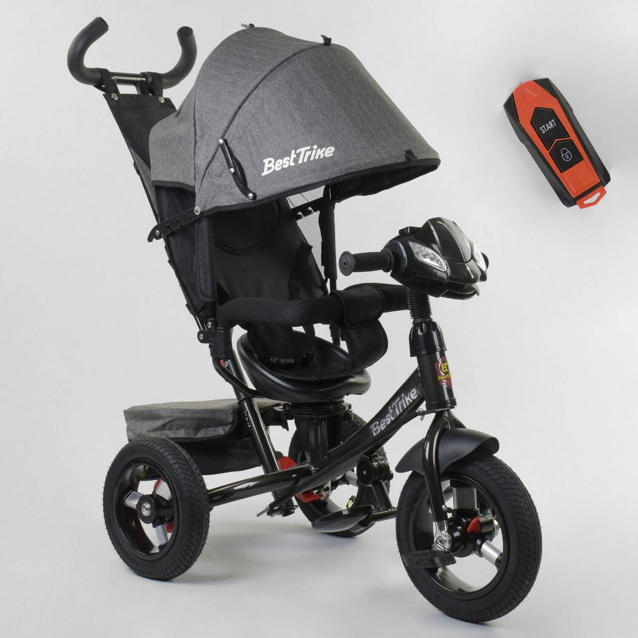 Велосипед детский 3-х колёсный Best Trike 7700 В / 72-467 Серый