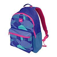 """624605KNPL Ортопедический подростковый рюкзак для девочки  """"Knit blue"""" 42*30*16 см TM Milan"""