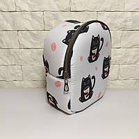 Детская сумочка, детский рюкзак котик