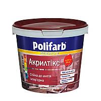 Краска База  Акрилтикс транспарентная Polifarb  4.2 кг