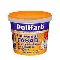 Краска База  Универсалфасад средняя Polifarb  4.2 кг